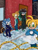 Gift: Snowball Fight by Nine-MileStudios