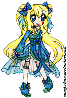 Princess Cure Parasol COMMISSION by sekaiichihappy