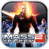 Mass Effect 2 Game Icon by Wolfangraul