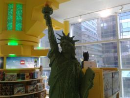 Lego Statue of Liberty by BluebottleFlyer