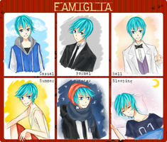 Famiglia Outfit Meme by bunnychii