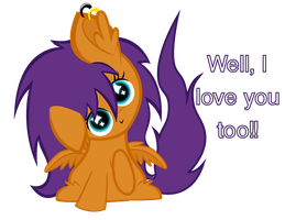 Well, I love you too!! Tellab by TellabArt