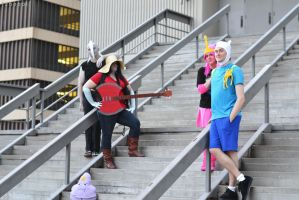 What time is it? - Adventure Time @ D*C '12! by zhobot