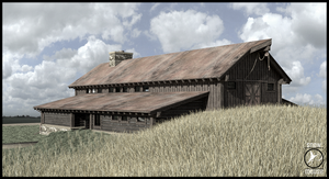 Barn_2 by TheSnowMouse
