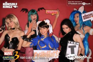 Marvel vs Capcom models by yayacosplay