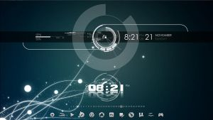 rainmeter flow by sean-naes
