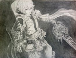 Pandora's Tower: Aaron by TravelingArtist93