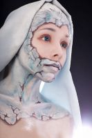 frozen face by Afemera