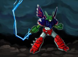 Weather Trio x Getter Robo by k-hots
