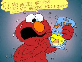 Elmo's Dirty Habit by mightyfilm