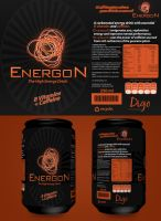 Energon Energy Drink by a2designs