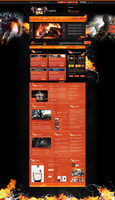 GODAMONGUS WebSpell - SOLD! by trkwebdesign