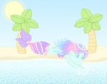 It's summer!! by Cupcake-Kitty-chan