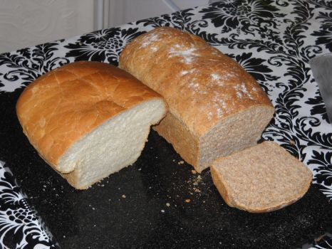 Wholemeal Bread by BisectedBrioche