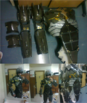Metal Gear Rising Revengeance - Raiden Suit WIP by karlonne