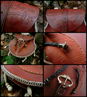 Pagan belt bag II by Noir-Azur