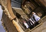Trinity Blood - Church Steps by nocturnal-blossom