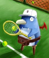 the prinny of tennis by xmj