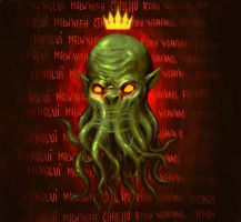 All hail Cthulhu! by Andy-Butnariu