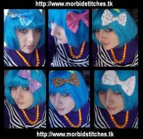 Ashley with Bows by morbid-stitches