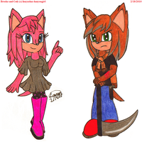Brooke and Cody by ReverseTheEclipse