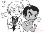 Chibi Giftie_Specs and Cog by BlackWolfGrimm666