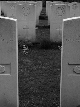 Operation Market Garden graves by xRockChick