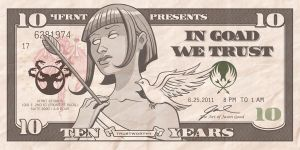In Goad We Trust flyer by JasonGoad