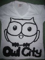 Owl City Shirt by ccstefsoccer4