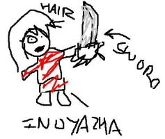 BEST INUYASHA DRAWING EVAR by sarcastro