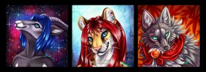 Icons - batch 1 by LucidKitsune