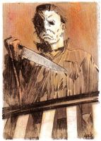 Michael Myers by RobertHack