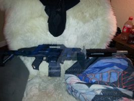 finished assalt rifle by ayria1