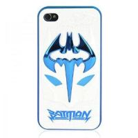 3D Batman Mask iPhone4/4s Case by tracylopez