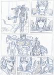 Transformers Prime comic page 3 WIP by Star10