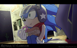 Sonic .:Wallpaper: by SpyroOandOcynder