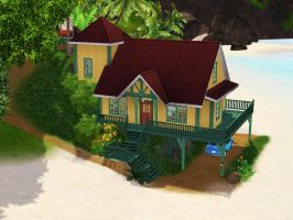 Sims 3 - Lilo and Stitch's House by SimsRepublic