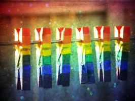 rainbow pegs by lauraturner27