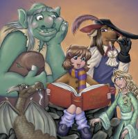 Storybook Reading by Anne-O