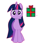 Twilight Sparkle Has A Present For You by BookishDelight