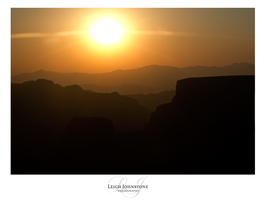 Gran Canyon Sunset by Leigh-Johnstone