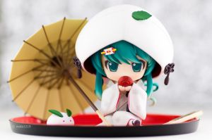 Snow Miku: Strawberry White Kimono Ver.(3) by wata1219
