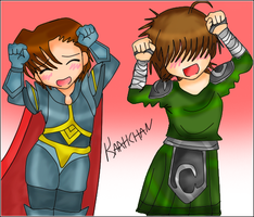 .: Artix and Cysero ... ? :. by kaahgome