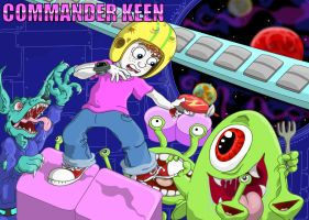 Commander Keen by Tabascofanatikerin