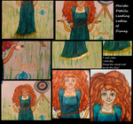 Leading Ladies of Disney: Merida - Details by random-drawer-person