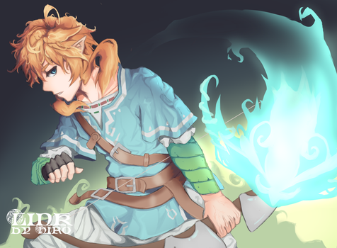 Link : Breath of The Wild [+VIDEO] by Hiro-Arts