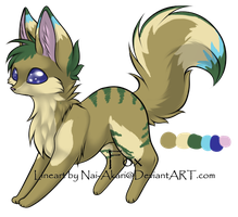 Fox Adoptable .:CLOSED:. by TazerMoon