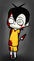 The cute little dead boy by lemonxbite
