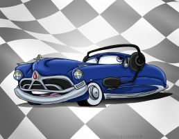 Another Doc Hudson Doodle by SarahMiele