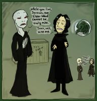 Poor Severus... by kykywka